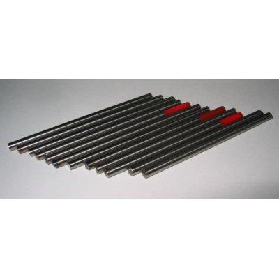 画像1: タングステン電極棒(ジルタン)2.4mm-50mm 12本