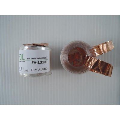 画像1: OFC銅箔・空芯コイル16AWG