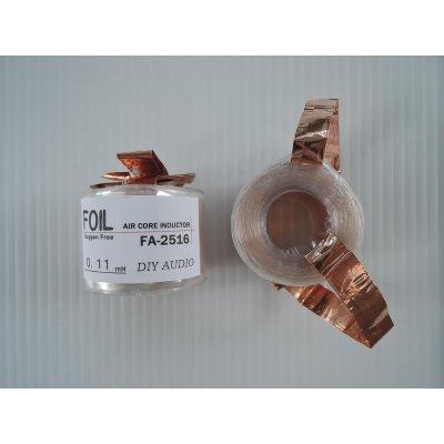 画像1: OFC銅箔・空芯コイル14AWG